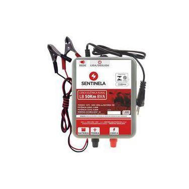 Imagem de Eletrificador De Cerca Elétrica Rural 50km Luz E Bateria 12v