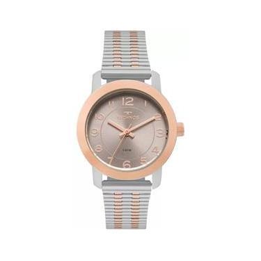 91d9bce00ad Relógio Feminino Technos Elegance 2035MLS 5C - Prata Rosê