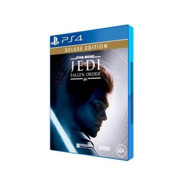 Star Wars Jedi Fallen Order Deluxe para PS4 - Respawn Entertainment Ed