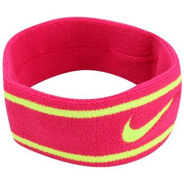 Testeira Dri-Fit Headband, Único, Rosa/Verde