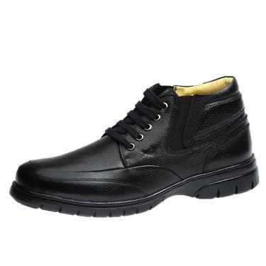 Bota Masculina Doctor Shoes 8849 Preto  masculino