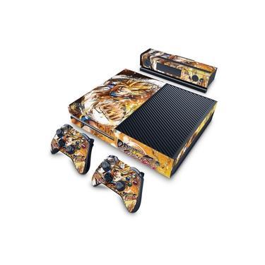 Skin Adesivo para Xbox One Fat - Dragon Ball Fighterz