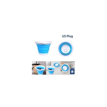 Imagem de Máquina de lavar mini lavadora portátil turbo lavadora 5L