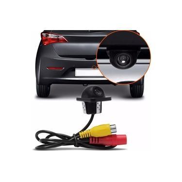 Mini Camera Ré Estacionamento Carro Colorida Tartaruga