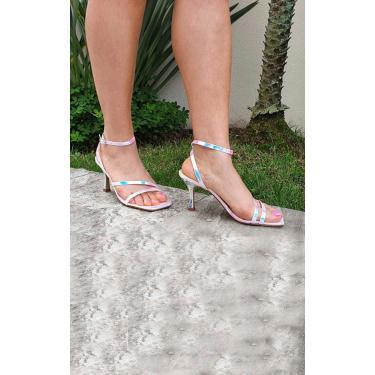 Sandália Tiras Le scarpe di Bruna - Furta Cor  feminino