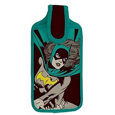 Capa multiuso neoprene batgirl dc colorido 21,5 x 8 cm