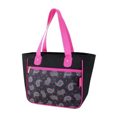 b04ff321e Bolsa Shopper Tam. G Estampada Jacki Design Classic Preto Ameba BOLSA  feminino