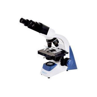 Microscópio Biológico Binocular Com Aumento De 40x A 1600x Led 3w Sdmb-100