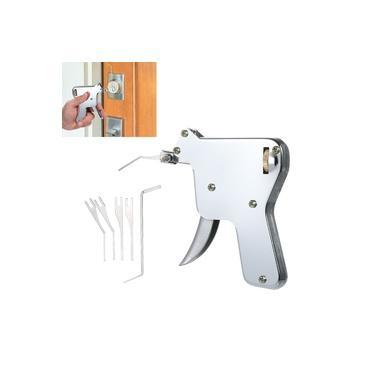 6 PCS Padlock Repair Tool Set Ferramenta de serralheiro Opener Door Lockpicking Practice Picking Tools com forte Jump Head para iniciantes profissionais