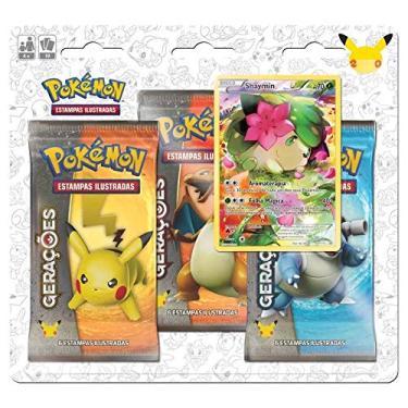 Imagem de Blister Shaymim Gerações Pokémon - Copag 97352