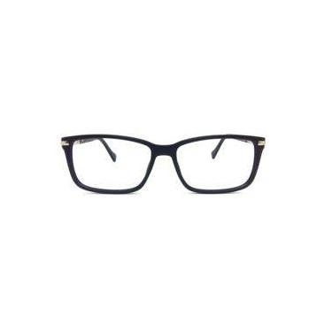 f522b2269 Óculos de grau Rafaello RFA037 Acetato c/ Alumínio Preto - Armação