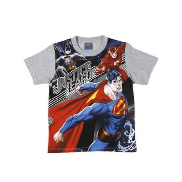 Camiseta Justice League Manga Curta - Masculino fc724e666c4