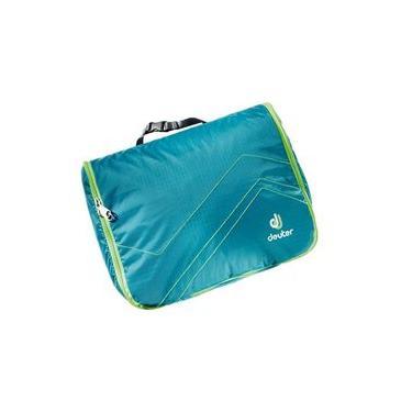 Necessaire Wash Center Lite II Deuter Azul com Verde