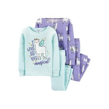 Pijama Infantil Menina Original Importado Carter,s 4 Peças