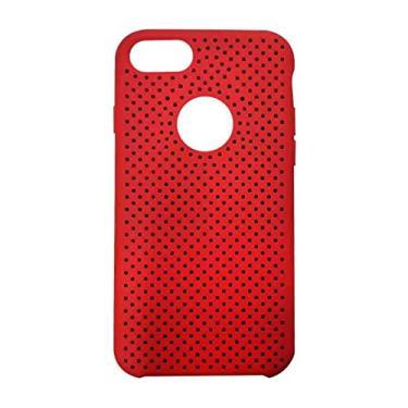 Capa de Acrílico para Apple iPhone 7 - Vermelha