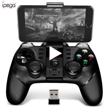 Controle de gamepad ipega 9076 PG-9076, joystick para android, celular e smartphone com bluetooth vr