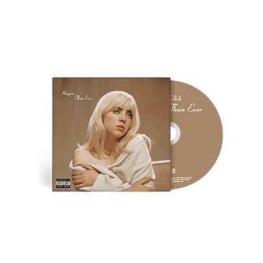 Imagem de Billie Eilish - `Happier Than Ever` - CD Versão Standard
