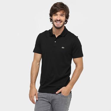 Camisa Polo Lacoste Malha Original Fit Masculina - Masculino 75d981473fc9e