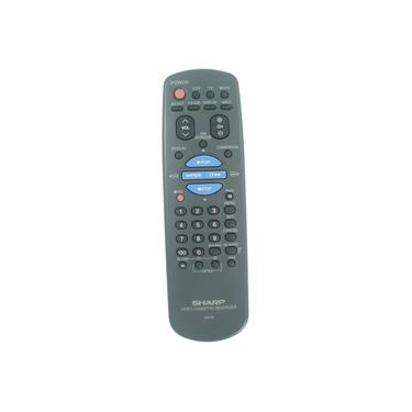 Controle Remoto Video K7 Sharp