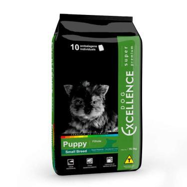Ração Seca Dog Excellence Super Premium Frango e Arroz para Cães Filhotes Raças Pequenas - 1 Kg