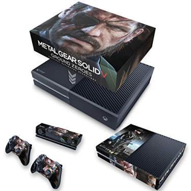 Capa Anti Poeira e Skin para Xbox One Fat - Metal Gear Solid V