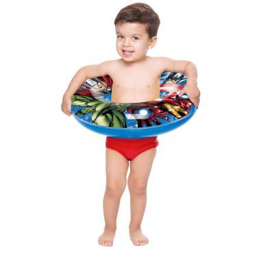 Acessórios de Praia e Piscina - Boia Redonda - Disney - Marvel - Avengers - Toyster