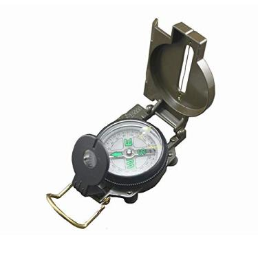 Bussola Portatil Estilo Militar Metal Lensatic