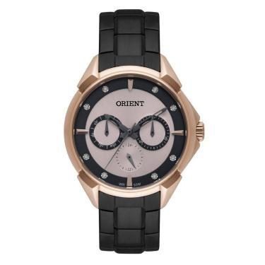 4370a9b3442 Relógio Feminino Orient Ftssm039 R1px - Rose Preto