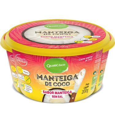 Kit 3 Manteiga de coco Qualicôco 200g