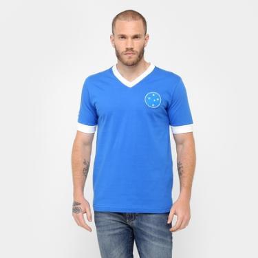 32cb991428 Camiseta Cruzeiro Réplica 1949 Masculina - Masculino