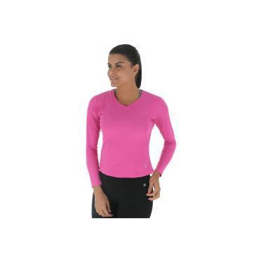 Camiseta Manga Longa com Proteção Solar UV Lupo Repelente - Feminina Lupo Feminino