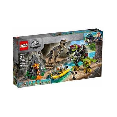 Lego 75938 Jurassic World – T.Rex vs Robô Dinossauro – 716 peças