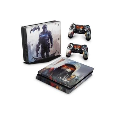 Skin Adesivo para PS4 Slim - Killzone Shadow Fall