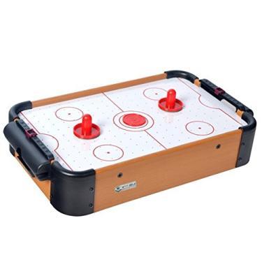 Mini Mesa de Hockey Winmax em Madeira - com Discos e Rebatedores - WMG08955 - Ahead Sports