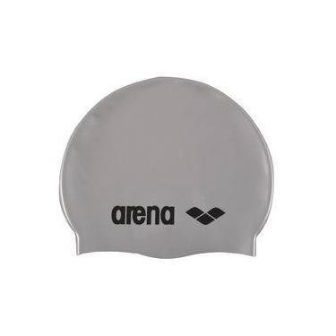 Touca Classic Silicone Arena   Cinza 0fd3467b4be