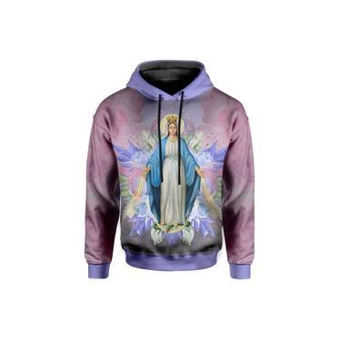 Moletom Com Capuz Santa Maria Floral