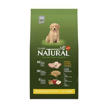 Ração Affinity Guabi Natural Frango e Arroz Integral para Cães Filhotes Raças Grande e Gigante - 20 Kg