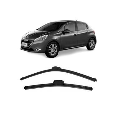 Par Palheta Limpador Parabrisa Peugeot 208 2013 a 2017 Dianteira Dyna