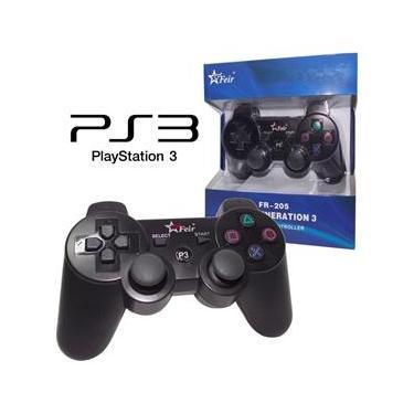 Controle Sem Fio Game Ps3 Fr-205 - Feir