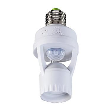 Imagem de Sensor de Presença para Iluminação com Soquete, Intelbras, ESP 360 S, Branco