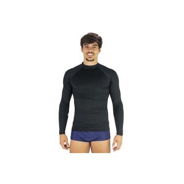 Camisa Térmica Masculina Segunda Pele Praia Surf Proteção Uv 50+ Mvb Modas