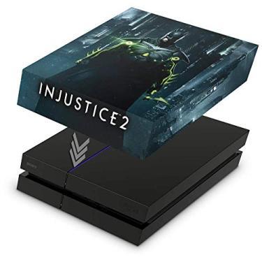 Capa Anti Poeira para PS4 Fat - Injustice 2