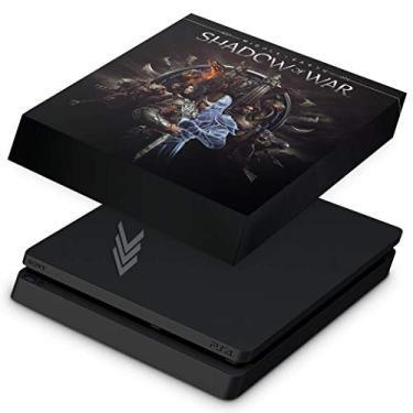 Capa Anti Poeira para PS4 Slim - Shadow of War
