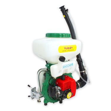 Atomizador Pulverizador Costal A Gasolina Motor 2 Tempos 42Cc 20L Vat20l 41.5Cc Vulcan Ferramentas Verde