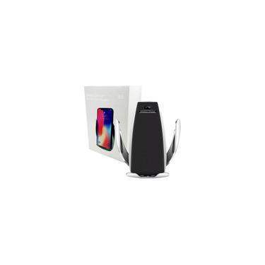 Carregador Sem Fio Samsung S6 E S7 E S8 S9 Iphone 8 Plus X Smart Sensor Car Wireless Charge