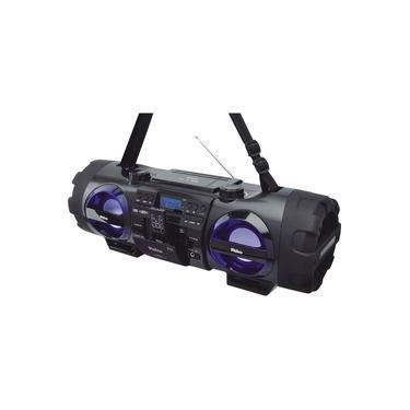 Som Portátil Philco Boombox PB500BT Bluetooth USB 200W MP3 Entrada Microfone - Bivolt