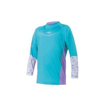 Camiseta Proteção Uv Body Fit Mormaii Infantil Verde - 4