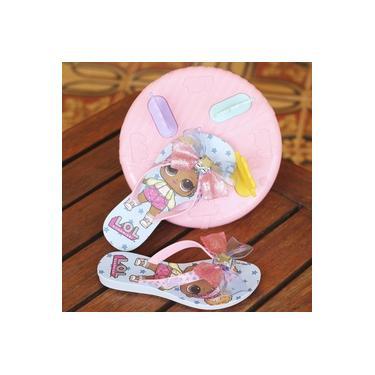 Tamanco Lol Grendene Azul/Rosa Infantil 22270-Summer