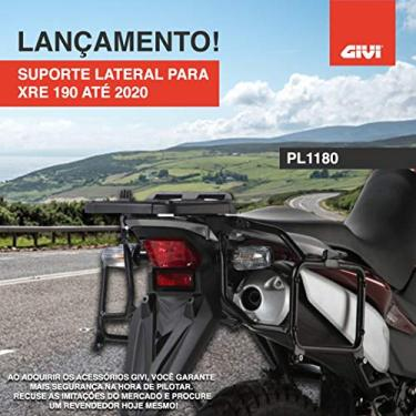Suporte Bau Lateral Givi Xre190 XRE 190 PL1180 Lançamento
