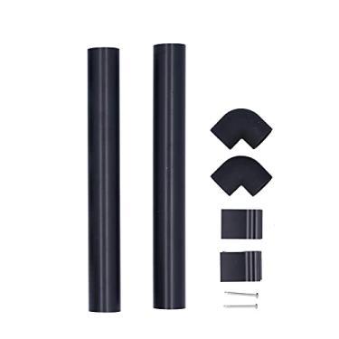 Calha para baixo da tubulação, estufa de alumínio de 32mm Calha para água da chuva Água para baixo da tubulação Kits de calhas para calhas de estufa Suprimentos de acessórios para calhas de estufa